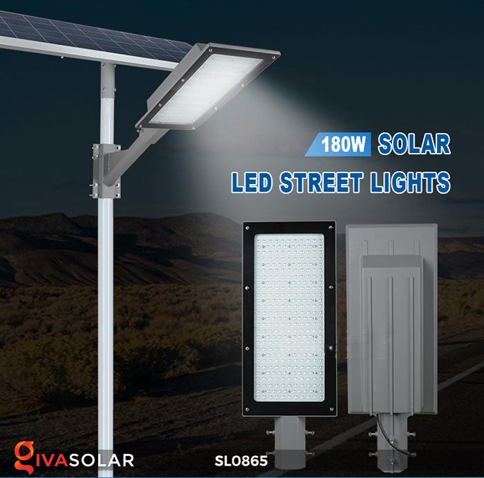Đèn năng lượng mặt trời chiếu sáng đường phố SL0865 1