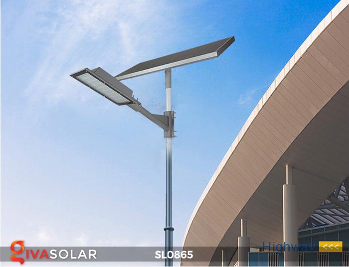 Đèn năng lượng mặt trời chiếu sáng đường phố SL0865 6