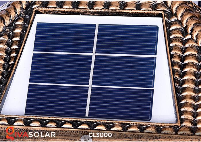 Đèn trụ cổng chạy điện mặt trời cao cấp GL3000 3