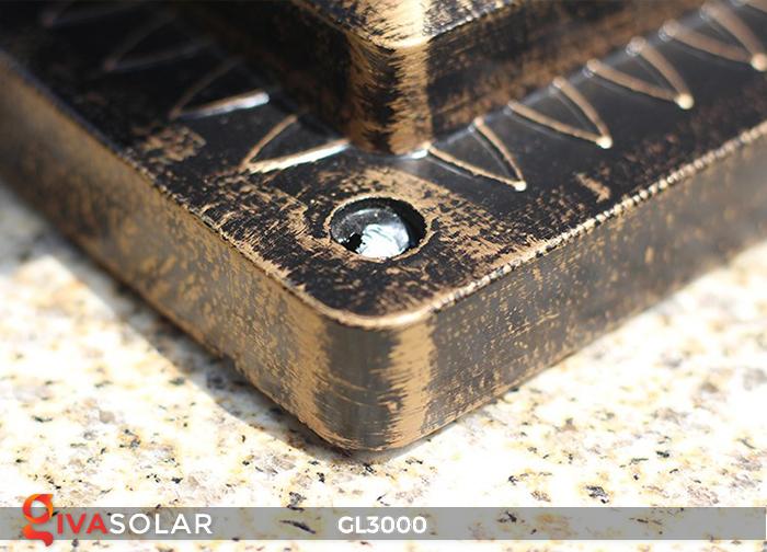 Đèn trụ cổng chạy điện mặt trời cao cấp GL3000 4