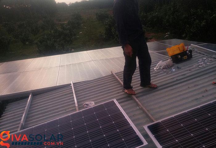 Mở rộng thêm hệ thống năng lượng mặt trời độc lập 5kW cho gia đình Bình Phước 1