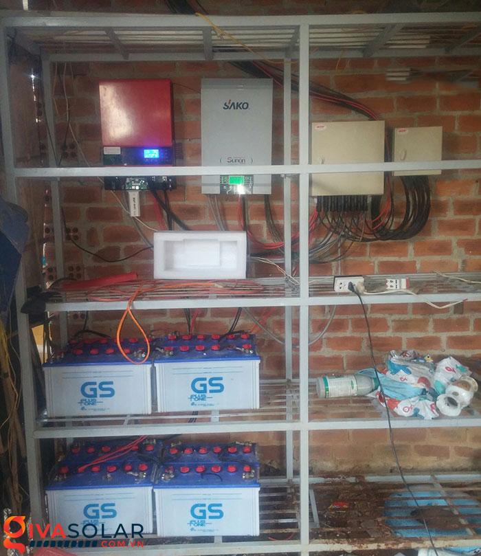 Mở rộng thêm hệ thống năng lượng mặt trời độc lập 5kW cho gia đình Bình Phước 12