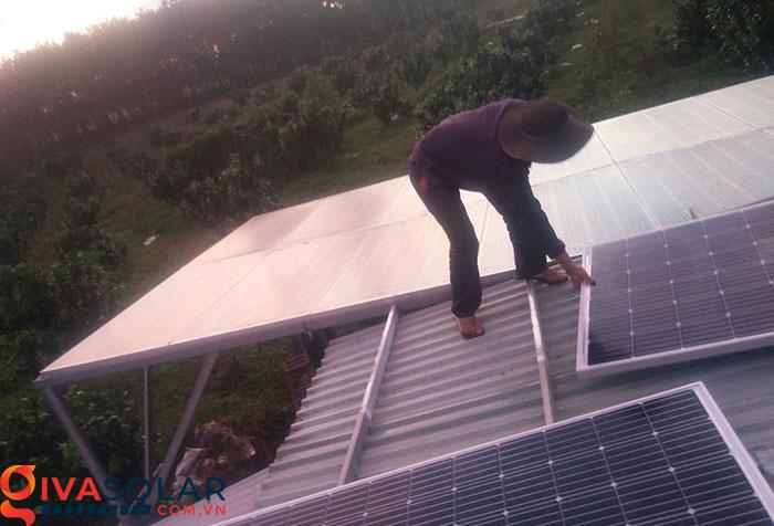 Mở rộng thêm hệ thống năng lượng mặt trời độc lập 5kW cho gia đình Bình Phước 2