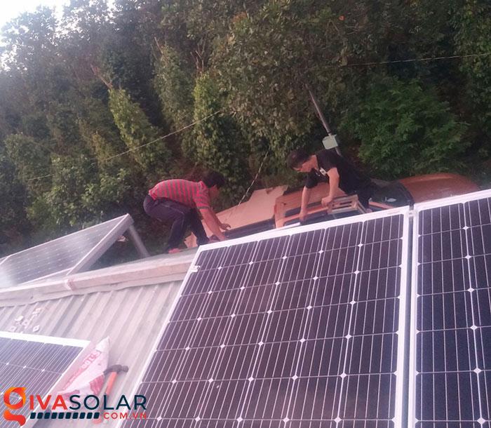 Mở rộng thêm hệ thống năng lượng mặt trời độc lập 5kW cho gia đình Bình Phước 7