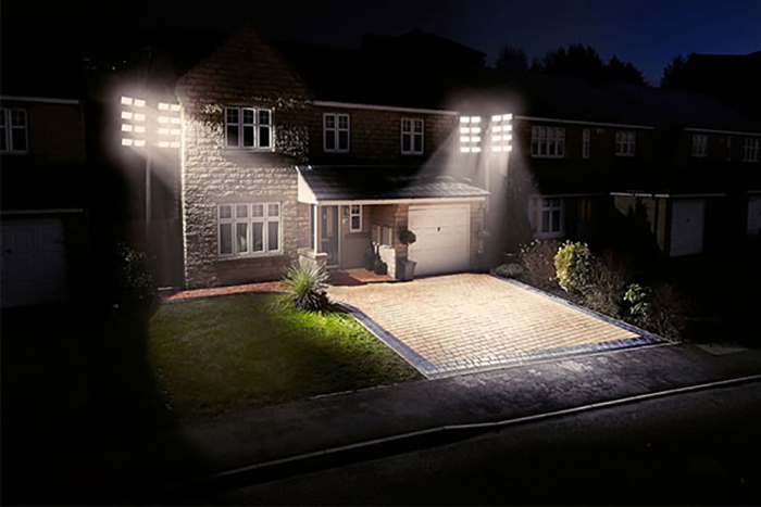 Lý do sử dụng đèn pha LED năng lượng mặt trời
