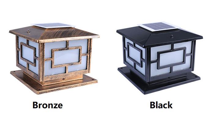 Cách lựa chọn đèn trụ cổng năng lượng mặt trời tốt nhất 2