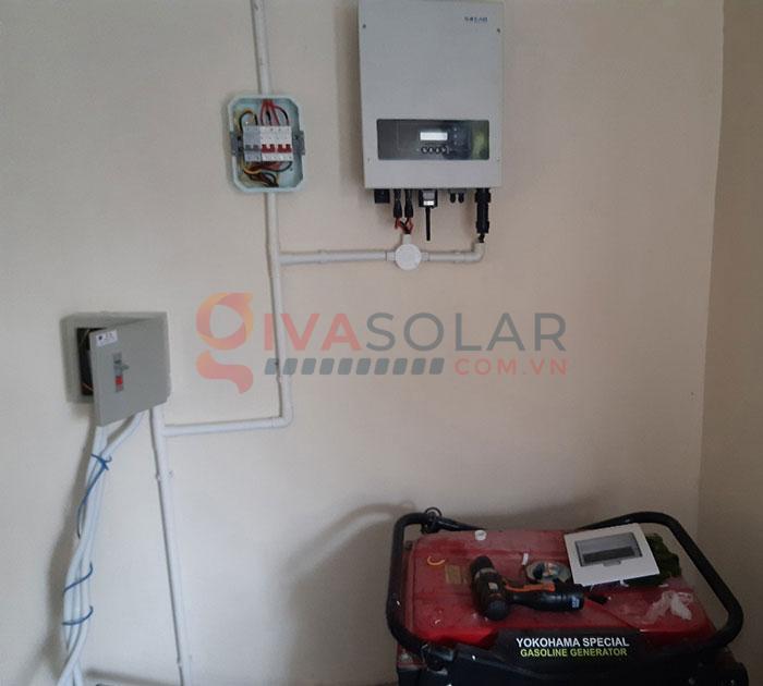 Hệ thống điện năng lượng mặt trời hòa lưới 5kW tại Bình Thuận 6