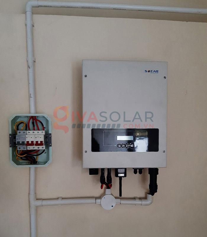Hệ thống điện năng lượng mặt trời hòa lưới 5kW tại Bình Thuận 7