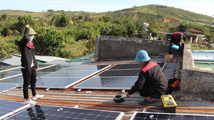 Hoàn thành hệ thống điện mặt trời quy mô lớn 40kW tại Lâm Đồng 10
