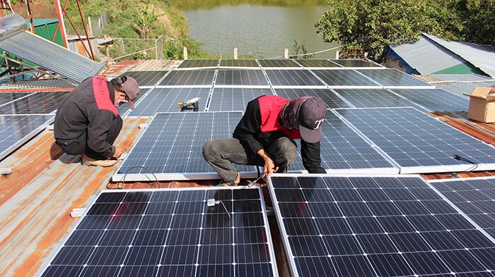 Hoàn thành hệ thống điện mặt trời quy mô lớn 40kW tại Lâm Đồng 11