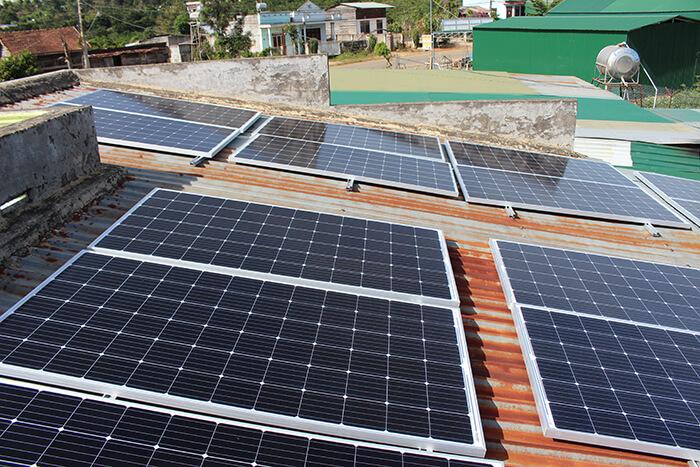 Hoàn thành hệ thống điện mặt trời quy mô lớn 40kW tại Lâm Đồng 12