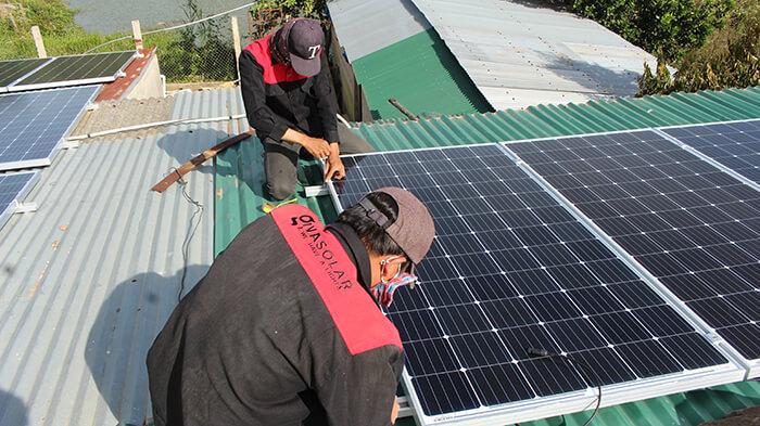 Hoàn thành hệ thống điện mặt trời quy mô lớn 40kW tại Lâm Đồng 13