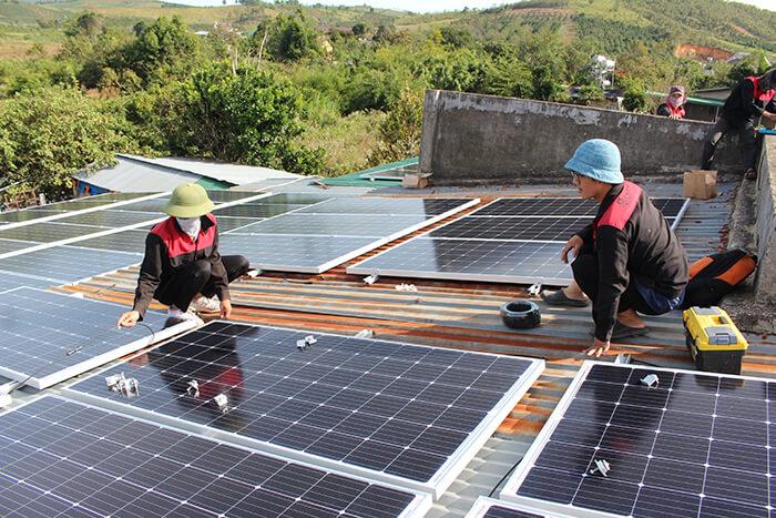 Hoàn thành hệ thống điện mặt trời quy mô lớn 40kW tại Lâm Đồng 14