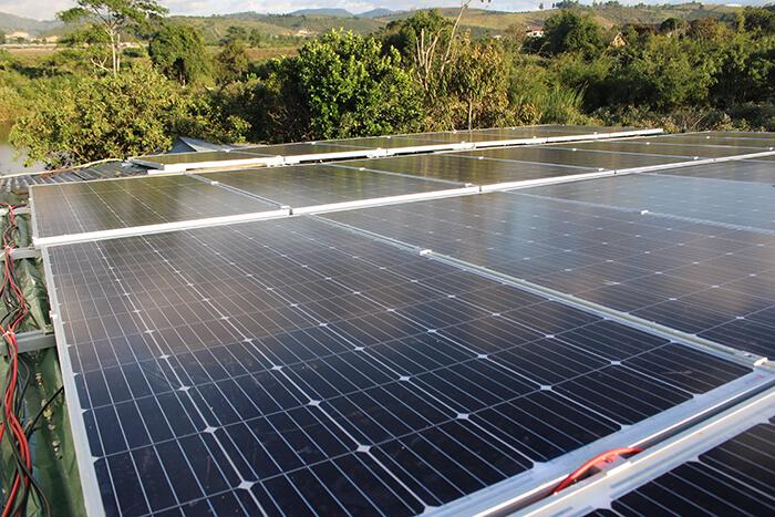 Hoàn thành hệ thống điện mặt trời quy mô lớn 40kW tại Lâm Đồng 15