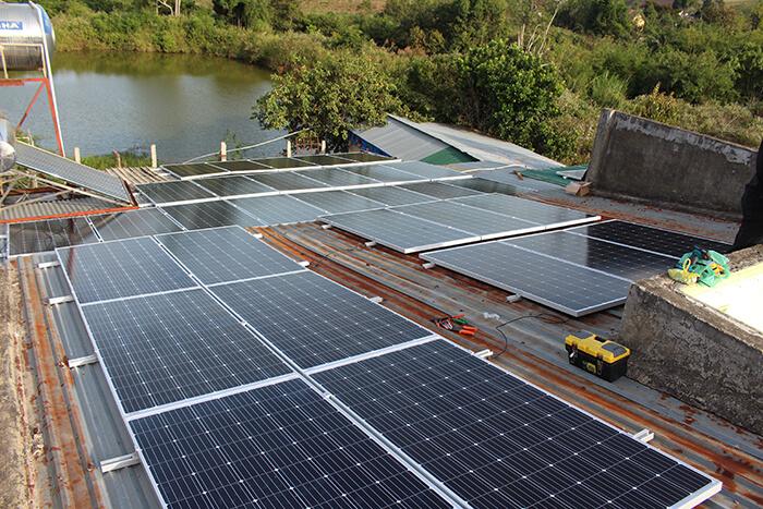 Hoàn thành hệ thống điện mặt trời quy mô lớn 40kW tại Lâm Đồng 18