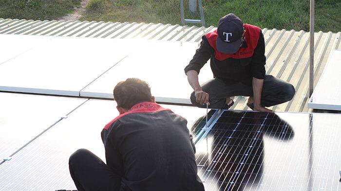 Hoàn thành hệ thống điện mặt trời quy mô lớn 40kW tại Lâm Đồng 21
