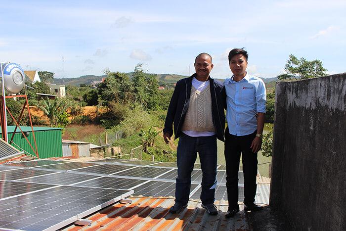 Hoàn thành hệ thống điện mặt trời quy mô lớn 40kW tại Lâm Đồng 22