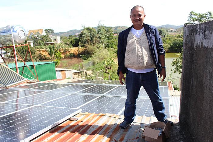 Hoàn thành hệ thống điện mặt trời quy mô lớn 40kW tại Lâm Đồng 23