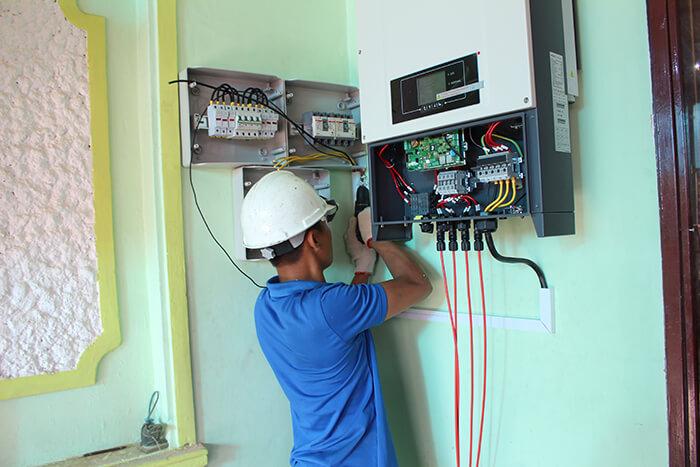 Hoàn thành hệ thống điện mặt trời quy mô lớn 40kW tại Lâm Đồng 27