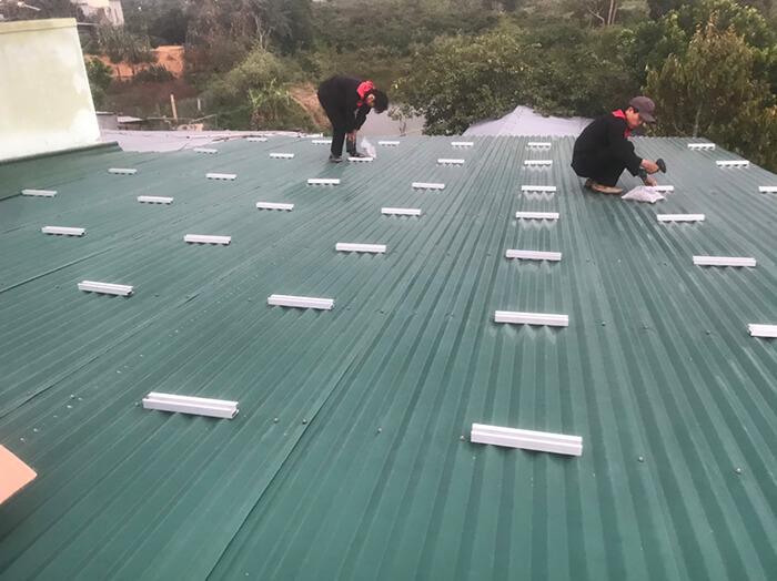 Hoàn thành hệ thống điện mặt trời quy mô lớn 40kW tại Lâm Đồng 5