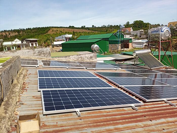 Hoàn thành hệ thống điện mặt trời quy mô lớn 40kW tại Lâm Đồng 6