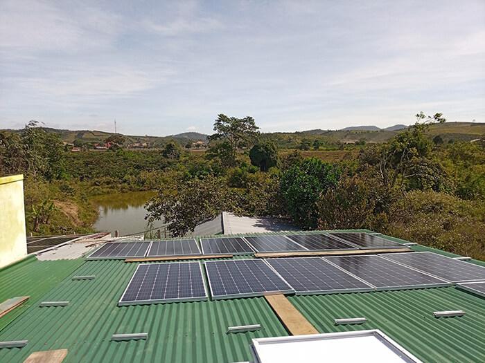 Hoàn thành hệ thống điện mặt trời quy mô lớn 40kW tại Lâm Đồng 7
