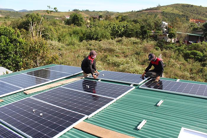 Hoàn thành hệ thống điện mặt trời quy mô lớn 40kW tại Lâm Đồng 8