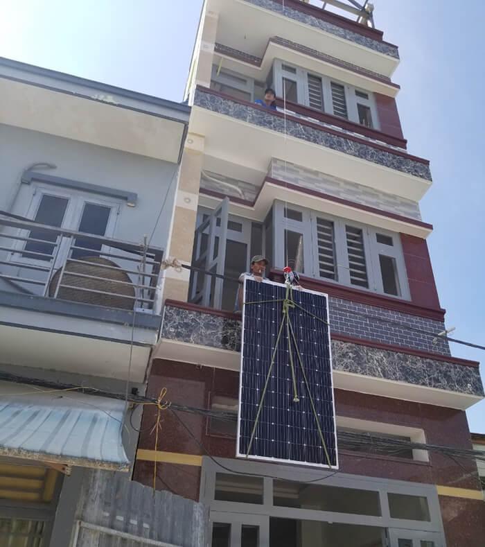 Hoàn thành dự án điện năng lượng mặt trời 6.8 kW tại Bình Tân 1