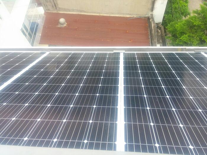 Hoàn thành dự án điện năng lượng mặt trời 6.8 kW tại Bình Tân 10