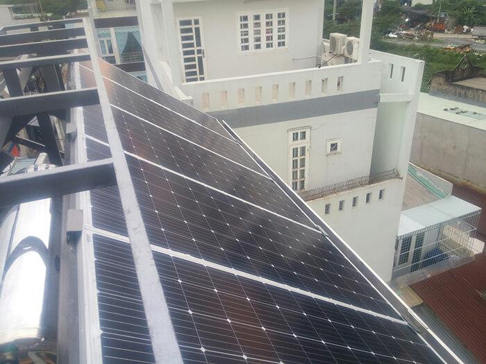 Hoàn thành dự án điện năng lượng mặt trời 6.8 kW tại Bình Tân 11
