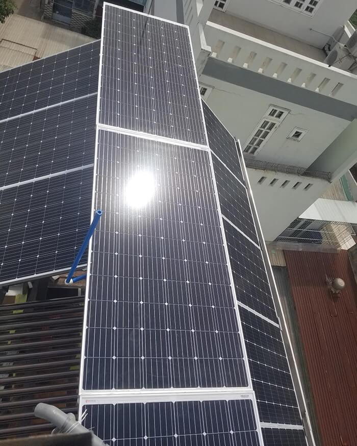 Hoàn thành dự án điện năng lượng mặt trời 6.8 kW tại Bình Tân 13