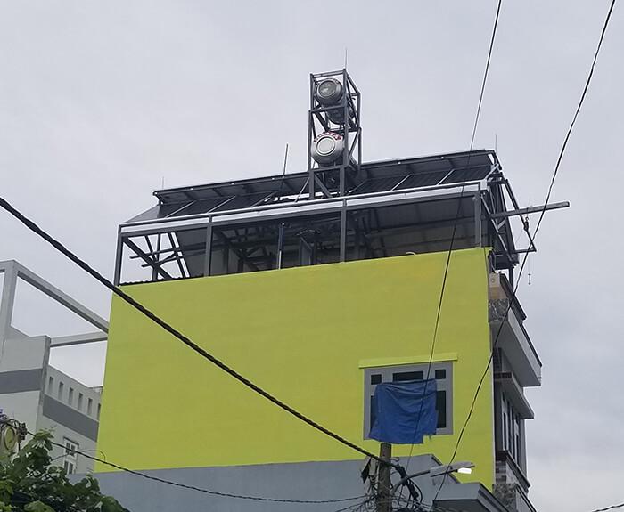 Hoàn thành dự án điện năng lượng mặt trời 6.8 kW tại Bình Tân 15