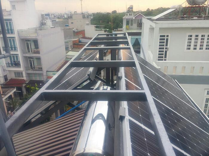 Hoàn thành dự án điện năng lượng mặt trời 6.8 kW tại Bình Tân 2