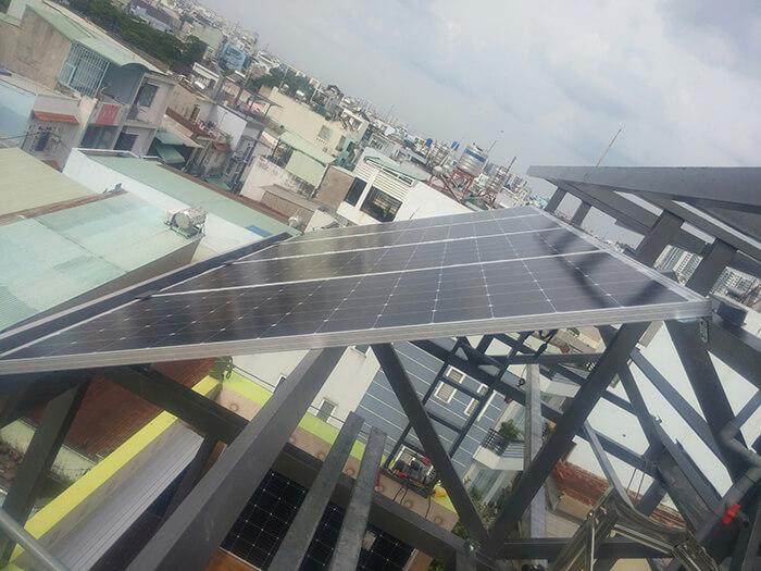 Hoàn thành dự án điện năng lượng mặt trời 6.8 kW tại Bình Tân 5