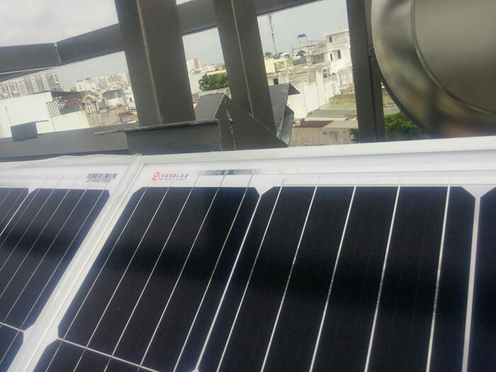 Hoàn thành dự án điện năng lượng mặt trời 6.8 kW tại Bình Tân 6