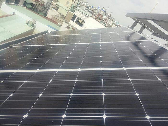 Hoàn thành dự án điện năng lượng mặt trời 6.8 kW tại Bình Tân 7
