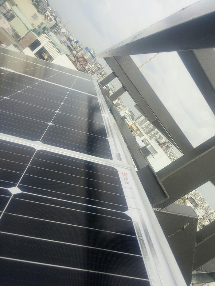 Hoàn thành dự án điện năng lượng mặt trời 6.8 kW tại Bình Tân 8