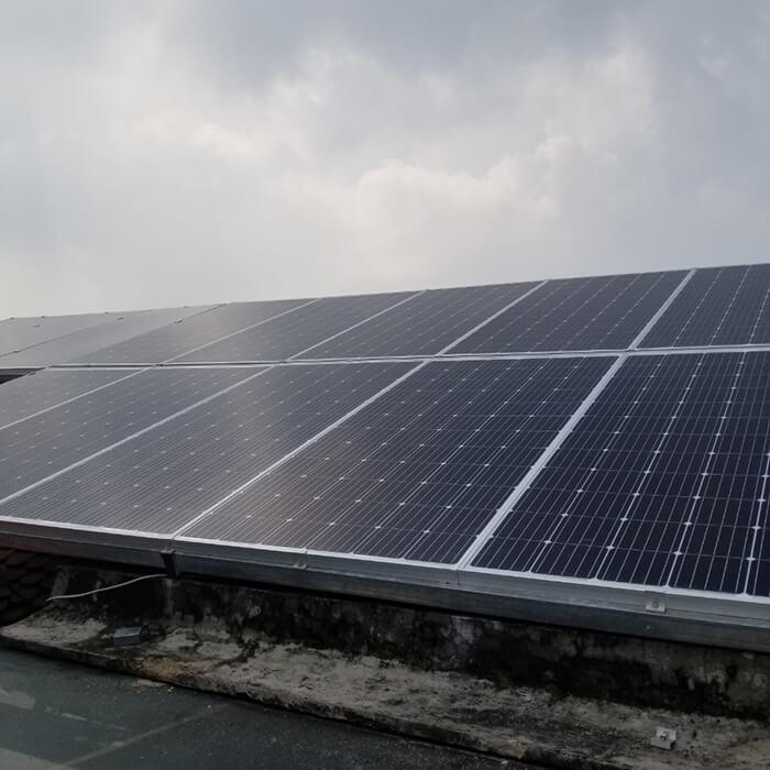 Hoàn thành hệ thống điện năng lượng mặt trời 5kW tại Bình Dương 5