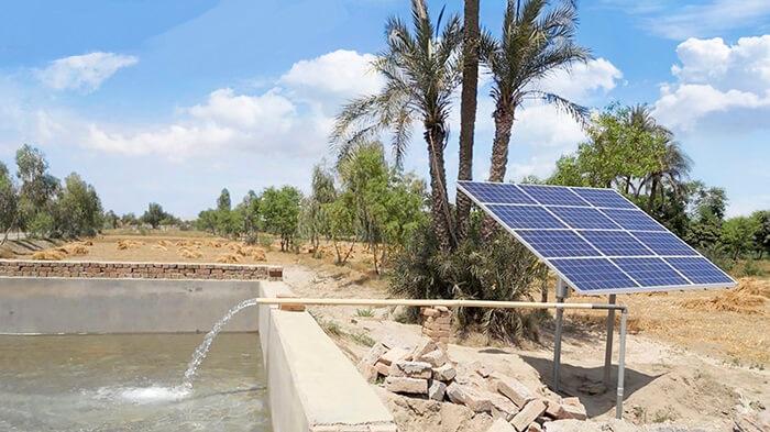 Hỏi đáp về máy bơm nước, hệ thống bơm năng lượng mặt trời 1
