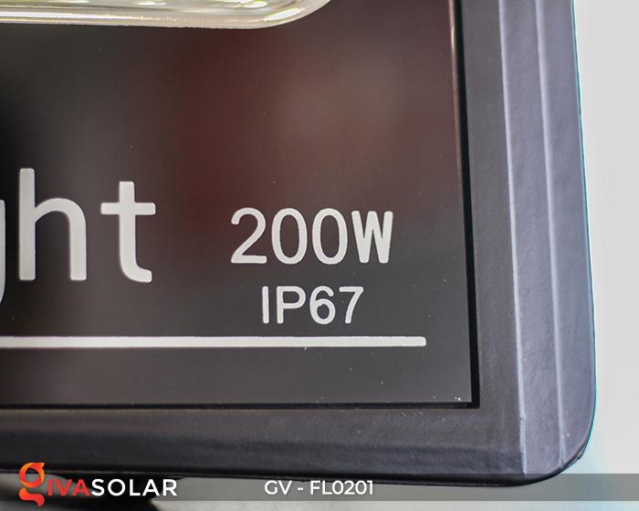 Đèn pha LED năng lượng mặt trời cao cấp FL0201 - 200W 13