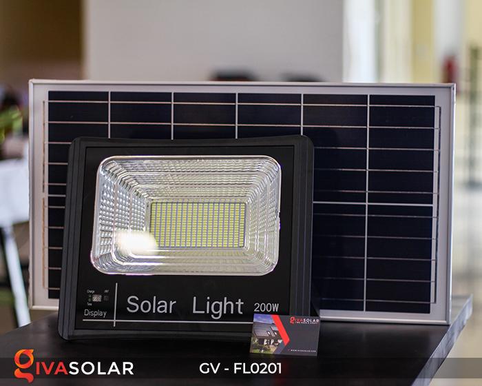 Đèn pha LED năng lượng mặt trời cao cấp FL0201 - 200W 14