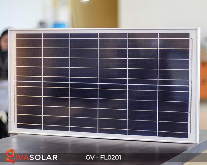 Đèn pha LED năng lượng mặt trời cao cấp FL0201 - 200W 16