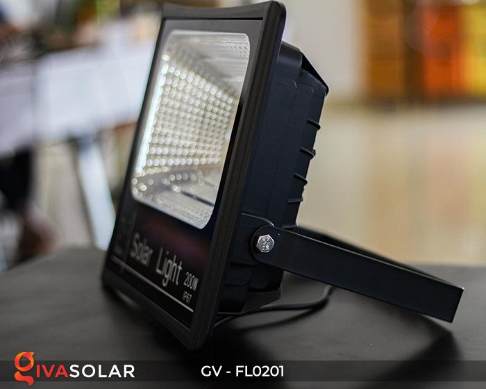 Đèn pha LED năng lượng mặt trời cao cấp FL0201 - 200W 3
