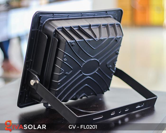 Đèn pha LED năng lượng mặt trời cao cấp FL0201 - 200W 4