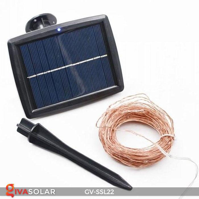 Đèn LED dây năng lượng mặt trời đa sắc SSL22 1