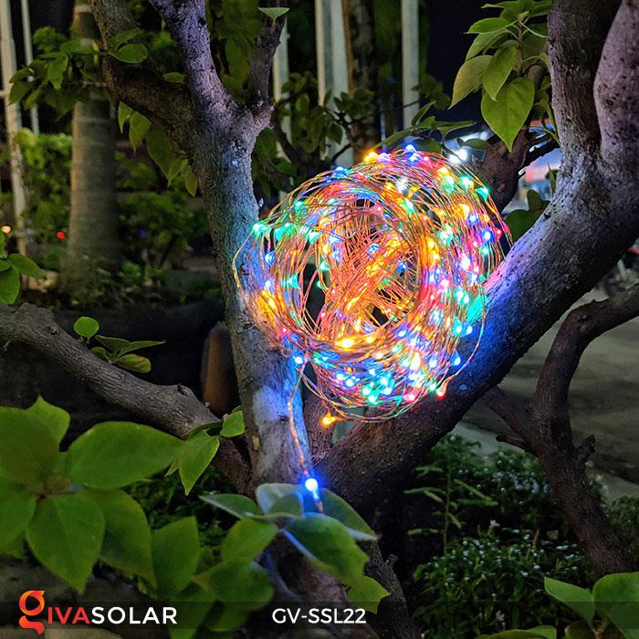 Đèn LED dây năng lượng mặt trời đa sắc SSL22 11