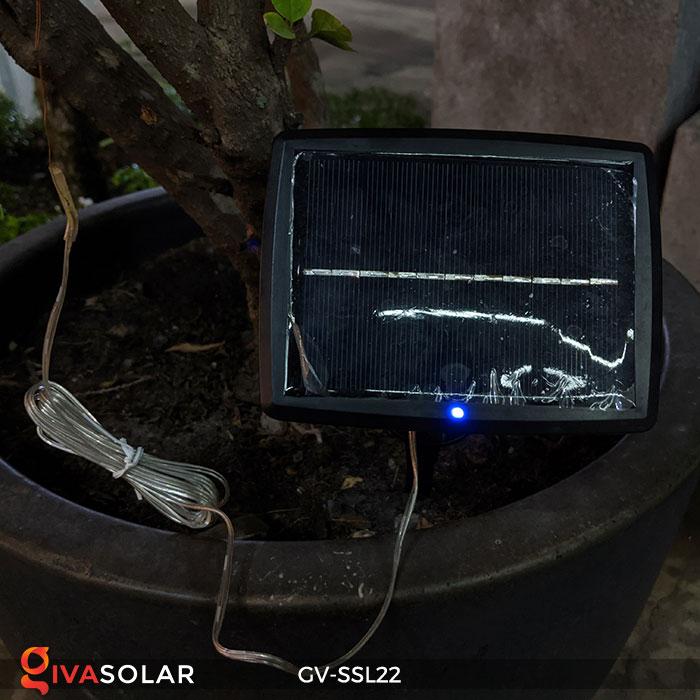 Đèn LED dây năng lượng mặt trời đa sắc SSL22 12