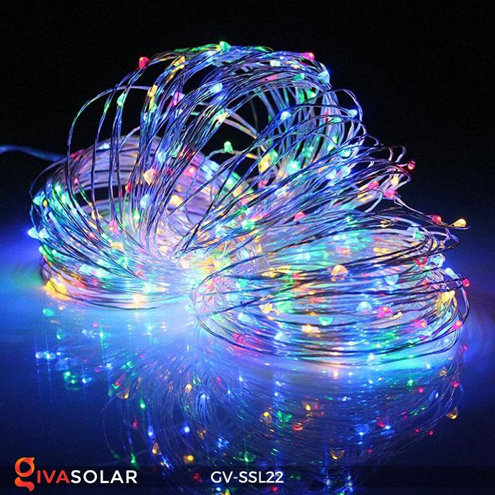Đèn LED dây năng lượng mặt trời đa sắc SSL22 13