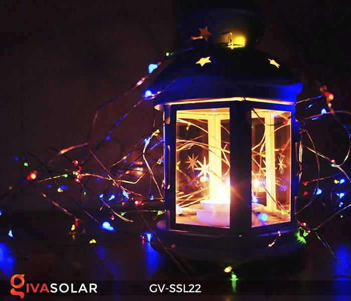 Đèn LED dây năng lượng mặt trời đa sắc SSL22 16