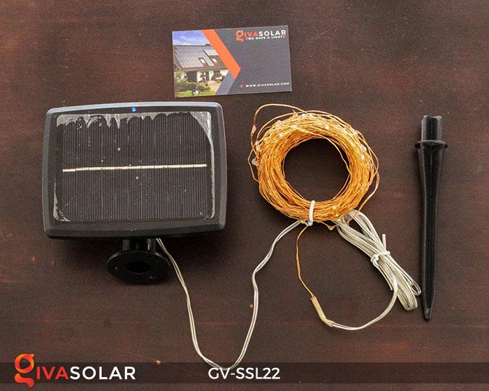 Đèn LED dây năng lượng mặt trời đa sắc SSL22 17